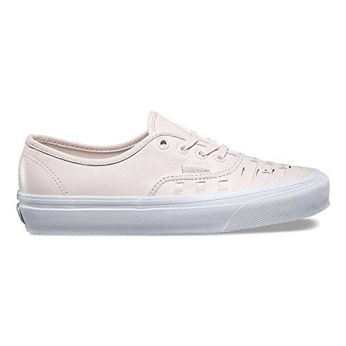 Vans Unisex Authentic Weave Leather Skate Shoes-Delicacy-8-Women/6.5-Men