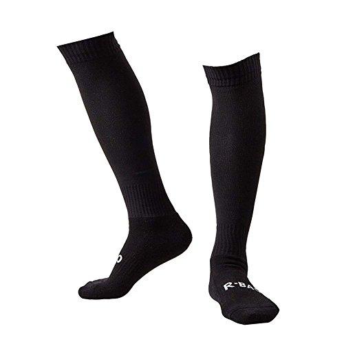 Men's Sports Athletic Compression Football Soccer Socks Over Knee High Socks (Soccer Over Knee Socks)