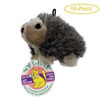 Amazon.com: Booda Soft Bite Hedgehog Dog Toy Medium - 4.75