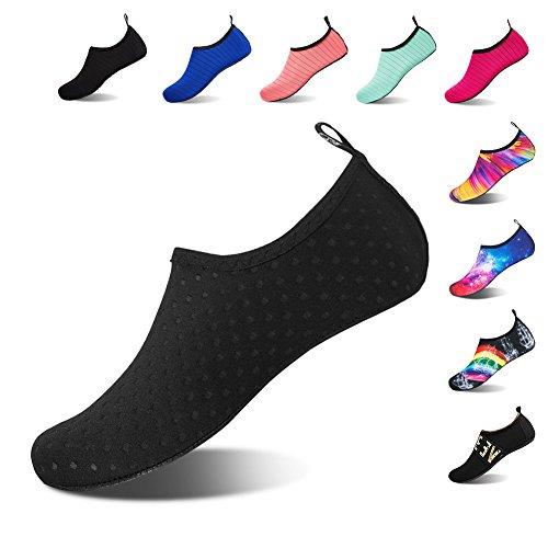 Pour Noires Bain De Barefoot Beach Yoga Aqua Rapide Et Water Chaussure Hmiya Schage Hommes Shoes Chaussettes Femmes RaUOqOwx