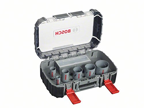 Bosch 2608580885 Electricians Hole Saw Set of Bi-Metal 11 Pcs by Bosch