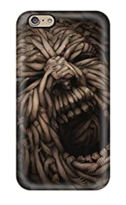 Awesome FZPaZPw23943YGUHl ZippyDoritEduard Defender Tpu Hard Case Cover For Iphone 6- Screaming Hands