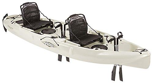 2017 Hobie Mirage Outfitter Fishing Kayak (Ivory Dune)