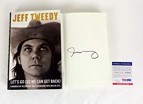 Jeff Tweedy Wilco Signed Autograph Let