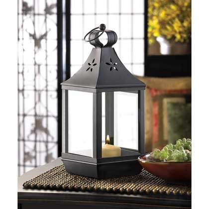 Set of 10 Carriage Style Candle Lantern