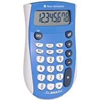 Texas Instruments 503SV/FBL/4L1/A TI-503 SV Basic Calculator 8 Character(s) - LCD - Battery Powered