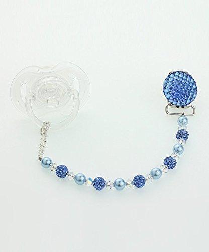 Amazon.com: Dream de vidrio perlas de lujo azul Cristales de ...