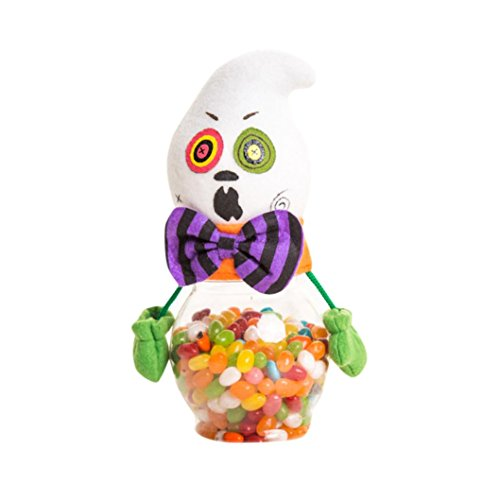 [Halloween Candy Jar, Misaky Party Bottle Case Household Children Can Bin Decor Box] (Toddler Corn Dog Costume)