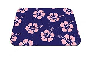 Good-will - Pink Hibiscus Design Mouse Pad Anti-slip Mouse Pad Mat Mice Mousepad