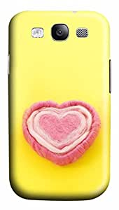 Samsung Galaxy S3 I9300 Cases & Covers - Love Cotton Candy Custom PC Soft Case Cover Protector for Samsung Galaxy S3 I9300
