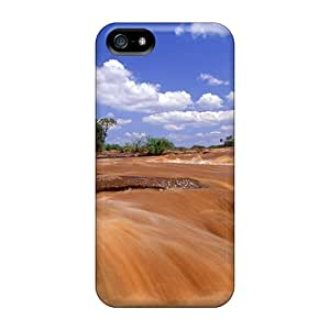 Durable Tsavo East National Park Back Cases/covers For Iphone 5/5s