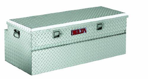 "Delta 221000 220 Series 49"" Long Bright Aluminum Portable Truck Utility Chest"