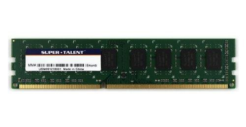 Super Talent Computer Ram (Super Talent 240-Pin DDR3 1333 8 GB/512Mx8 Value Memory W1333UB8GV)
