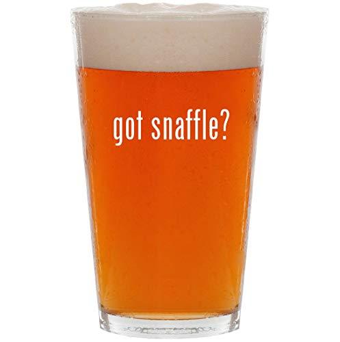 got snaffle? - 16oz All Purpose Pint Beer -