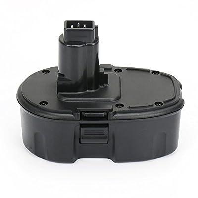 POWERU 18V 3.0Ah Ni-MH Replacement Battery for DC9096 DW9096 DC9099 DC9098 DE9039 DE9095 DE9096 DE9098 DE9503 DW9095 DW9098