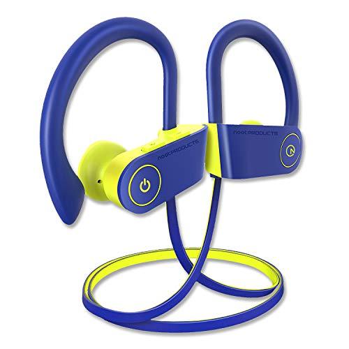 noot products NP11 Wireless Earphones Bluetooth in-Ear Headphones with Mic, Volume & Remote Control IPX7 Sweatproof…