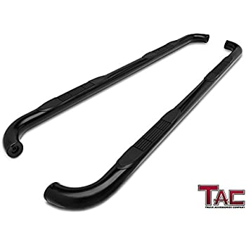 5510300 Ionic Pro Series 5 Stainless Oval Nerf Bars 2007-2018 Chevy Silverado GMC Sierra Crew Cab Only Truck Side Steps