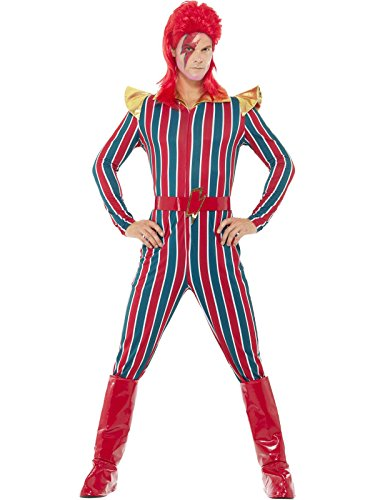 Smiffys Men's Space Superstar Costume, Multi, Large -