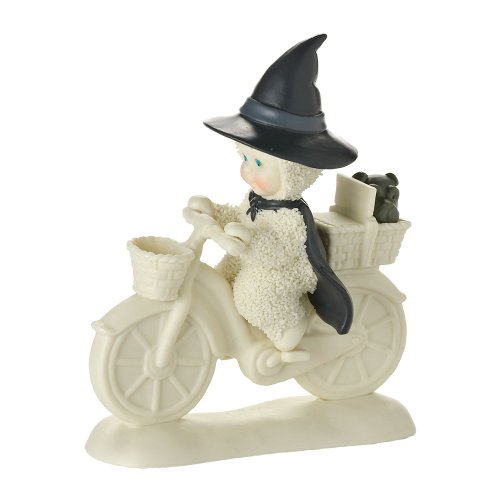 Department 56 Snowbabies Guest Collection by Wicked Witch of the West Figurine, (Wicked Witch Bike)