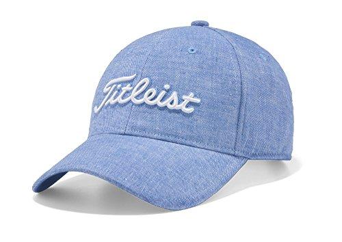 TITLEIST(タイトリスト) リネンキャップ HJ8CLN メンズ HJ8CLN-BL ブルー サイズ:フリー(57-59cm)