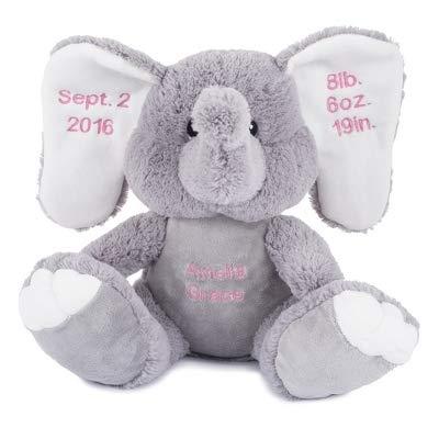 Amazon Com Things Remembered Personalized Elephant Stuffed Animal