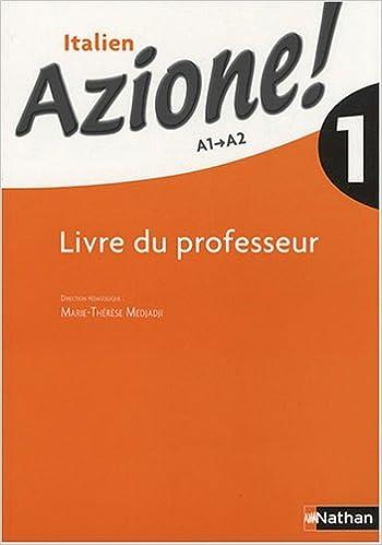 Italien Azione 1 French Edition 9782091738321 Amazon