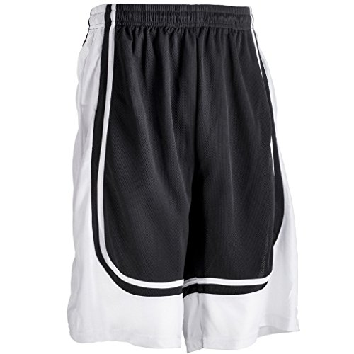 fan products of Better Wear Basketball Shorts for Men XL Black