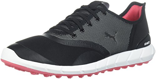 - PUMA Golf Women's Ignite Statement Low Golf Shoe, Black/White, 7.5 Medium US