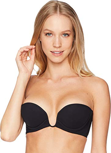 La Perla Women's Second Skin Underwired Bandeau Bra Black 32B (Underwired Skin Bra)