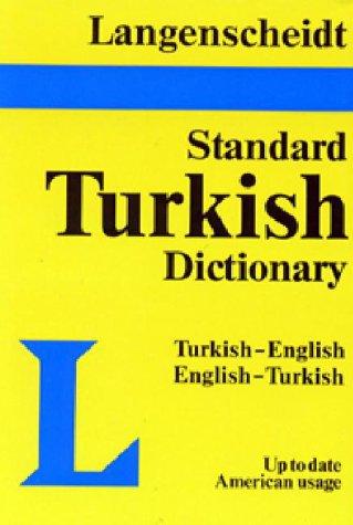 Langenscheidt Standard Dictionary Turkish/English-English/Turkish - English Dictionary To Turkish
