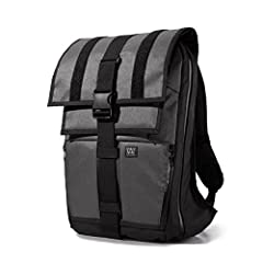 """The Vandal backpack features a water-resistant main compartment which can be used in either """"roll-top"""" mode, or in the traditional """"flap-down"""" configuration.The Vandal backpack features a water-resistant main compartment which can be used in ..."""