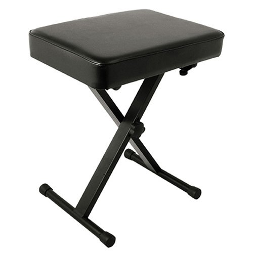 World Tour Deluxe Padded Keyboard Bench WOR SXBN