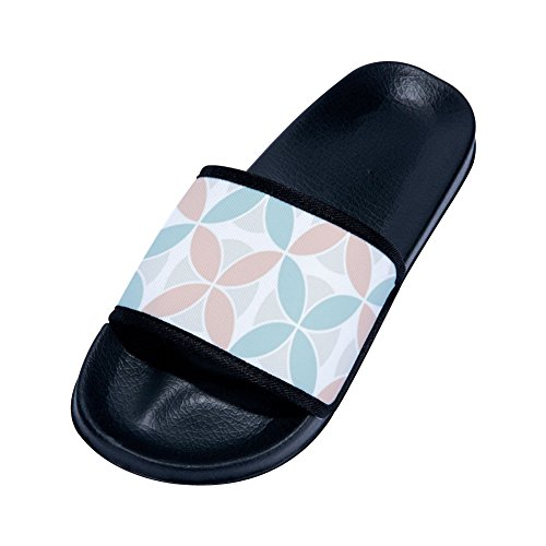 TINA Men's Beach Shower Slip Indoor Geometry 11 Sandals House Bathroom Summer Slippers Shoes Non amp; R and Outdoor Women's rHfBSqrWZ