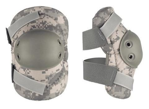 Acu Elbow Pads - Alta Tactical AltaFLEX Elbow Pads, Universal ACU, Velcro AT53010-15