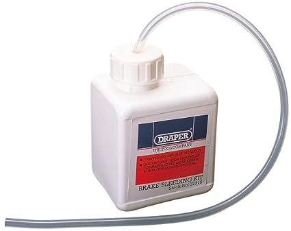 Draper 37316 - Kit para purga de frenos
