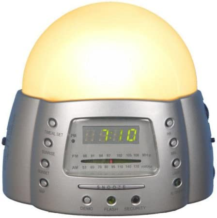 SOLEIL SUN Alarm Ultima Clock Radio Dawn Simulator