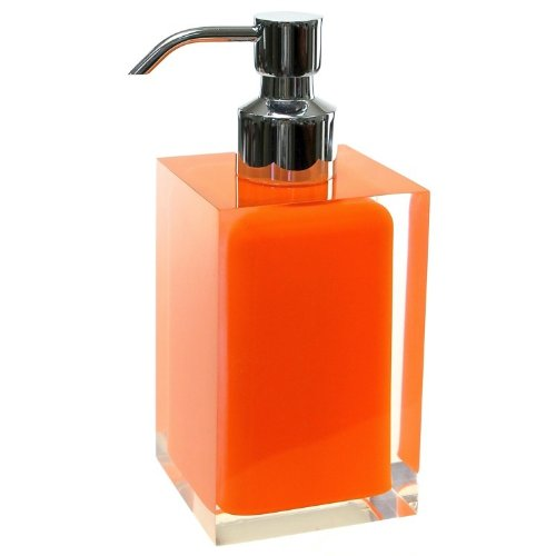 Countertop Soap Dispenser, Orange (Nameeks Soap Dispenser)
