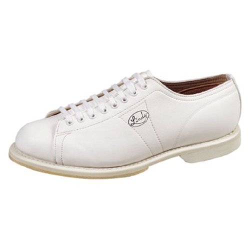Linds Mens Classic White Bowling Shoes- Right Hand (12 M US, White)