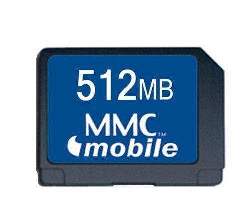 Transcend 512 Mo Carte mé moire multimé dia MMC TS512MRMMC4 Carte mémoire