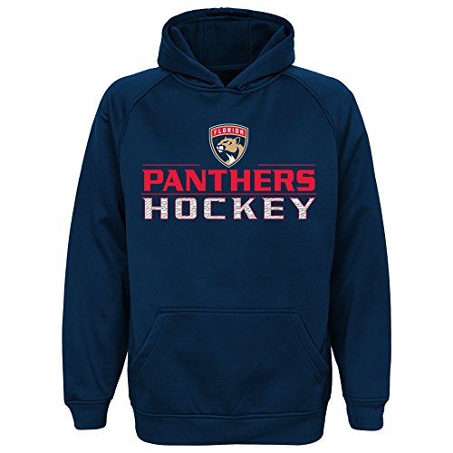 NHL Youth 8-20 Panthers performance hood, L(14-16), True Navy