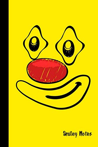 Smiley Notes: small lined Clown Notebook /