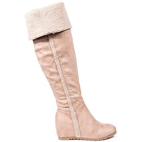 Compens Ideal Bottes Semi Shoes Ideal Shoes wpR7TTXq