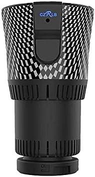 Monland Calentador y Enfriador de Tazas de AutomóVil Inteligente 2 en 1 de Café Taza de Enfriamiento y Calentamiento de Bebidas para Calentador de Enfriador de Botellas Viaje Coche