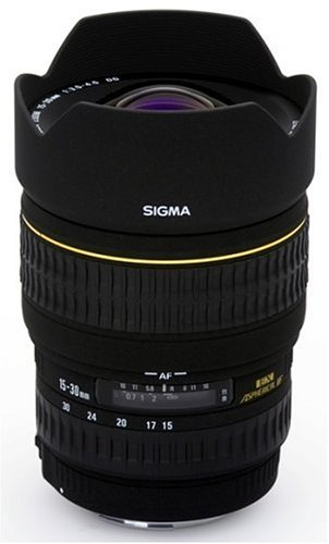 Sigma 15-30mm f/3.5-4.5 Ex Dg If Aspherical Ultra Wide Angle Zoom Lens for Canon