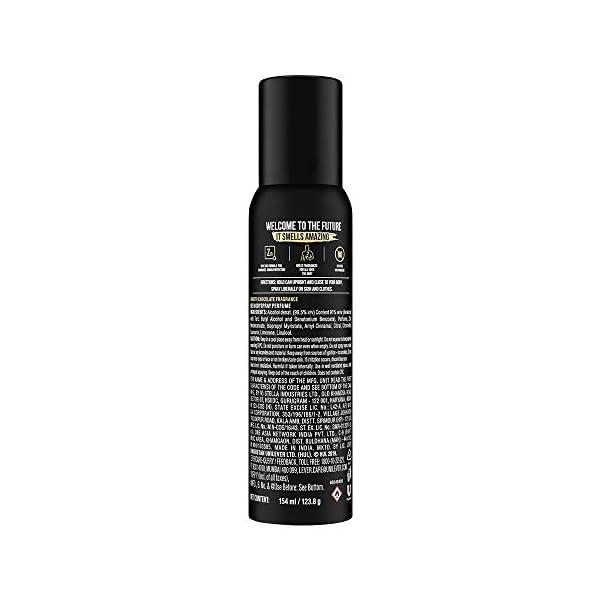 Axe Signature Dark Temptation Long Lasting No Gas Deodorant Bodyspray Perfume For Men 154 ml 2021 July Sensual, smooth chocolate fragrance 0% Gas 24 hour, long lasting fragrance