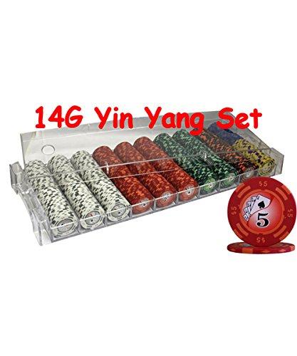 Yin Yang Poker Chips - 6