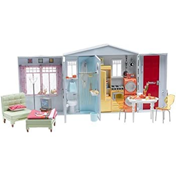 Barbie forever totally real house playset for Casa di barbie youtube