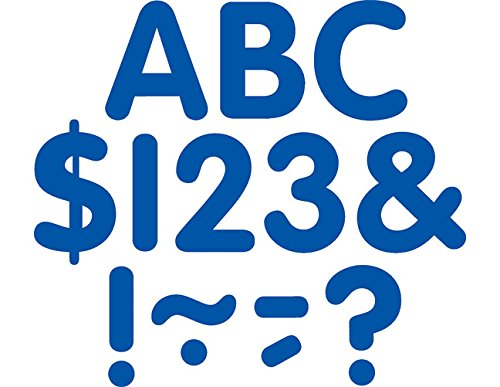 Teacher Created Resources Blue Classic 2-Inch Letters Uppercase Pack (5563)
