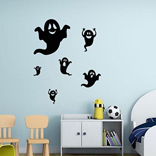 Creative Diy Halloween Costumes For Adults (Smartcoco DIY Creative Halloween Ghost Wall Sticker Vivid Wallpaper Poster Kid Room Living Room Bedroom Halloween Decor 22.2