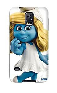 Galaxy S5 Case Bumper Tpu Skin Cover For Smurfs Accessories by mcsharks